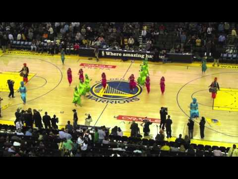Bhangra Empire  NBA Halftime Show (Warriors Vs. Mavericks) 2011...