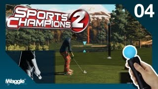 Sports Champions 2 PS Move Walkthrough - Part 4/6 [Golf - Gold Difficulty]
