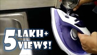 How to De scale your Philips Steam Iron | How to use Philips Steam Iron | Ironing Tips Demonstration