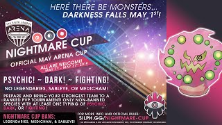 FIRST LOOK AT NEW SILPH ARENA NIGHTMARE CUP! Meta Discussion & Initial Thoughts! Pokemon GO PvP