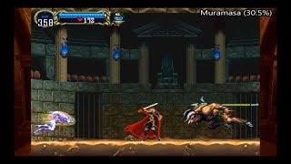 Muramasa vs Minotaur & Werewolf | Perfect/Muramasa Run - Castlevania Requiem: Symphony of the Night