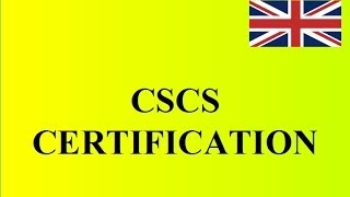 CSCS Certification: How to become a laborer