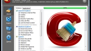 How to Download, Install and Use Ccleaner ( to clean potentially unwanted files )