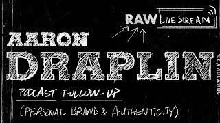 Aaron Draplin Podcast Follow-up: Personal Branding & Authenticity