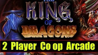 King of Dragons Arcade Co op Playthrough