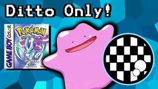 Can You Beat Pokemon Crystal With Only a Ditto?