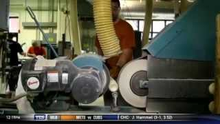 How are Louisville Slugger bats made?
