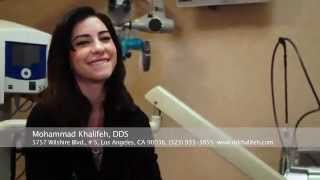 Lisa Origliasso visits the dentist! - Dr. Khalifeh