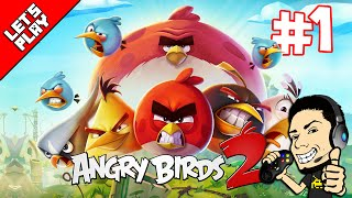 Angry Birds 2 | Gameplay Walkthrough Part 1 Levels 1-5 (iOS, Android)