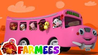 Rodas no ônibus | Rimas para bebês | musica infantil | Wheels On The Bus | Kids Rhyme | Baby Songs