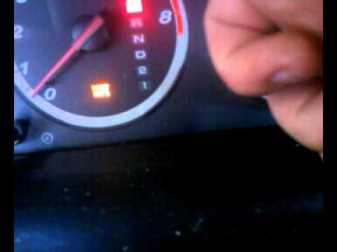 2007 Honda Crv Maintenance Light Reset Youtube