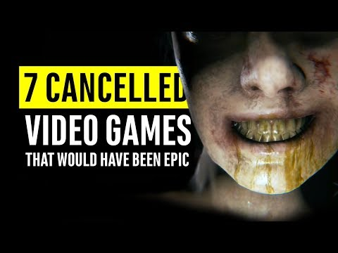 7 Cancelled Video Games That Would Have Been Epic