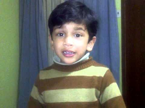 Sampoorn Ramayan By A Cute Child Atharv In His Own Way.3gp video