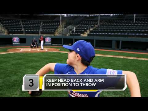 Little League Majors: Pitching Mechanics 101