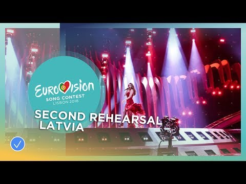 Laura Rizzotto - Funny Girl - Exclusive Rehearsal Clip - Latvia - Eurovision 2018