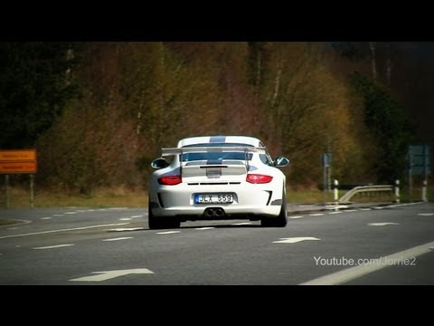 Porsche 997 GT3 RS 4.0. GT3 3.8. 996 GT3 Accelerations and Flybys! - 1080p HD
