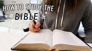 How to Enjoy Studying the Bible 📖