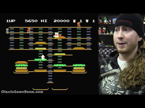 CGR Undertow - Observations and Frustrations with BURGERTIME for NES
