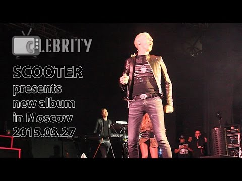SCOOTER presents new album in Moscow, 27.03.2015
