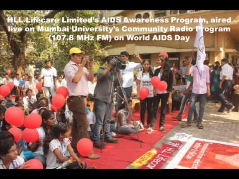 HLL's World AIDS Day Program broadcasted in Mumbai University's Community Radio