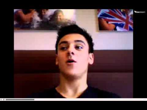 Tom Daley Twitcam 06/02/2011 - 1/2