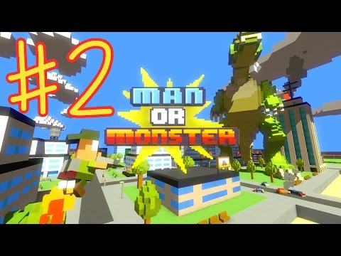 Ethan plays Man or Monster (#2) (KID GAMING)