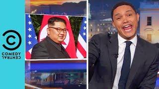 "Kim Jong Un Receives The ""Rockstar"" Treatment | The Daily Show With Trevor Noah"
