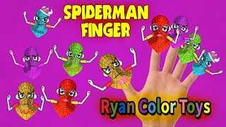 [Vlad and Nikita] Finger family nursery rhymes ryan [spiderman finger] Finger Family rhymes Song