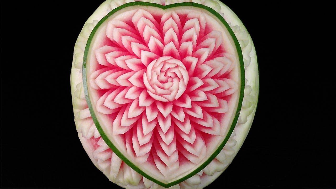 valentine heart watermelon design   int lesson 3 by mutita