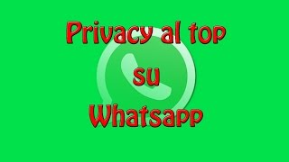 Privacy al top su WhatsApp | 5 Punti