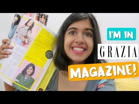 #SejalVlogs: I'm in Grazia Magazine! Photoshoot Behind The Scenes thumbnail