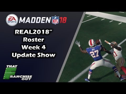 Madden 18 NFL Week 4 Roster Update | Biggest Risers & Fallers
