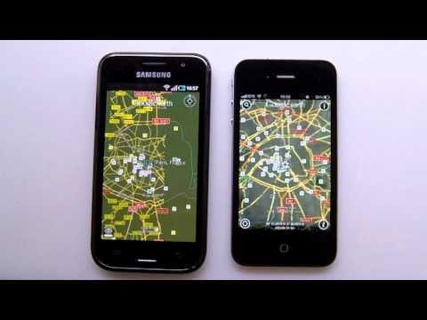 iPhone 4 Vs Samsung Galaxy S (GT-i9000) - PART 2