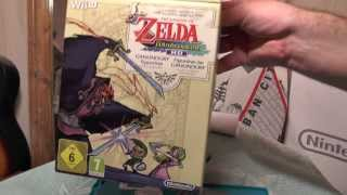 Распаковка The Legend of Zelda The Wind Waker HD Limited Edition для WiiU
