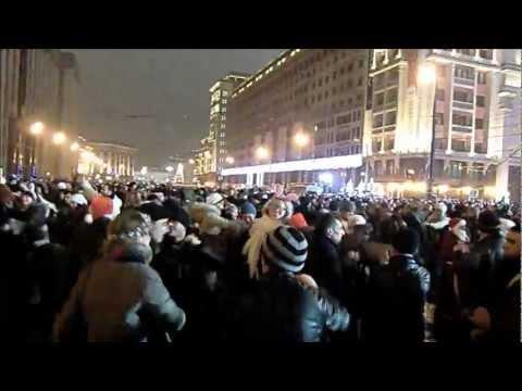 Москва. Проводы 2012 встреча 2013 года