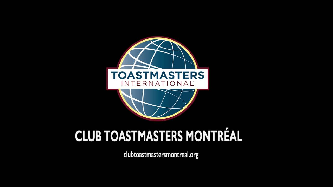 Toastmasters Montreal Anthony Sallaud