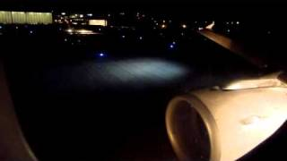 LX2815: Powerful Night-Takeoff from RWY5 in Geneva - Swiss Airbus A320 HB-IJP