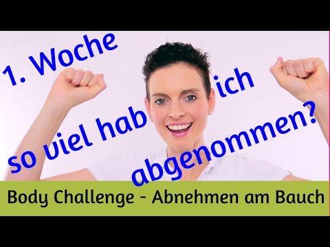 7 Wochen Body Challenge  - Abnehmen am Bauch