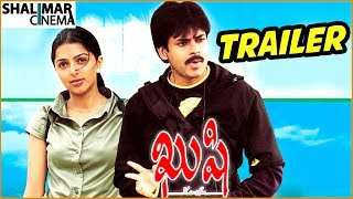 Kushi Telugu Movie Trailer || Telugu Super Hit Movie || Pawan Kalyan, Bhumika Chawla |