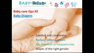 Baby Care Tips -- Tips on Baby Care For New Parents