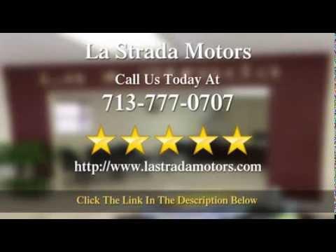 La strada motors houston reviews youtube for La strada motors houston tx