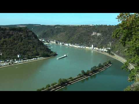 Rheinsteig St. Goarshausen - Loreley  UNESCO Welterbe Oberes...