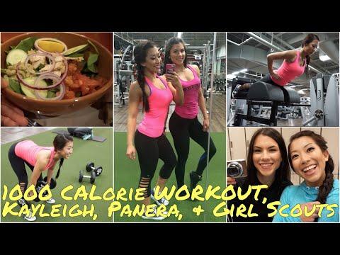 1000 Calorie Leg Workout   Kayleigh, Panera + Girl Scouts