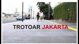 Trotoar Jakarta yang Nyaman