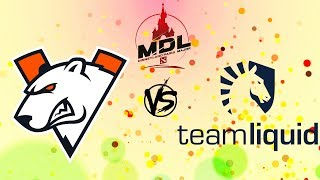 [RU] Virtus.pro vs. Team Liquid - MDL Disneyland® Paris Major 2019 BO3 @4liver