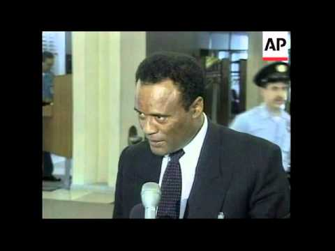UN: NEW YORK: ETHIOPIA HOPES FOR PEACEFUL SETTLEMENT WITH ERITREA