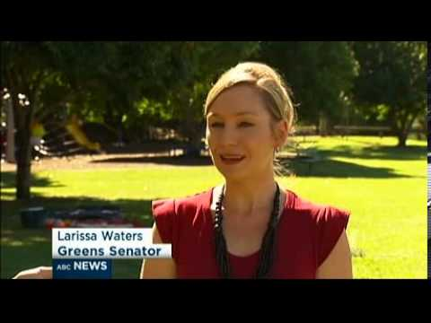 Larissa on ABC News - Great Barrier Reef under threat