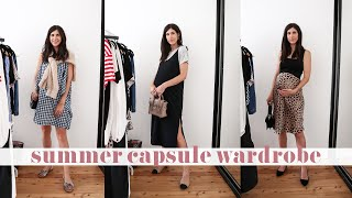 Spring/Summer Capsule Wardrobe: 37+ Outfit Ideas for Maternity/Pregnancy Style | Mademoiselle