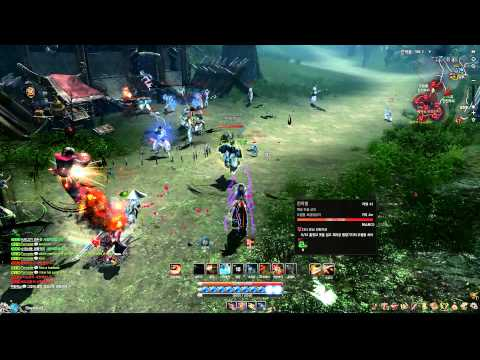 Blade & Soul Online World Faction PvP Grab of Death