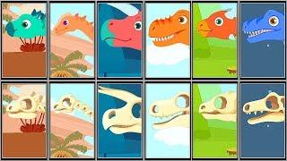 Jurassic Dig - TRex.Raptor.Ankylosaurus.Stegosaurus.Triceratops.Barachiosaurus.